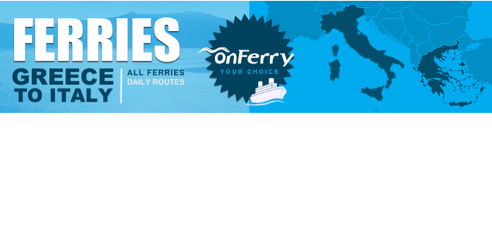 Home | Onferry - Ferry Tickets Online - Greece - Italy